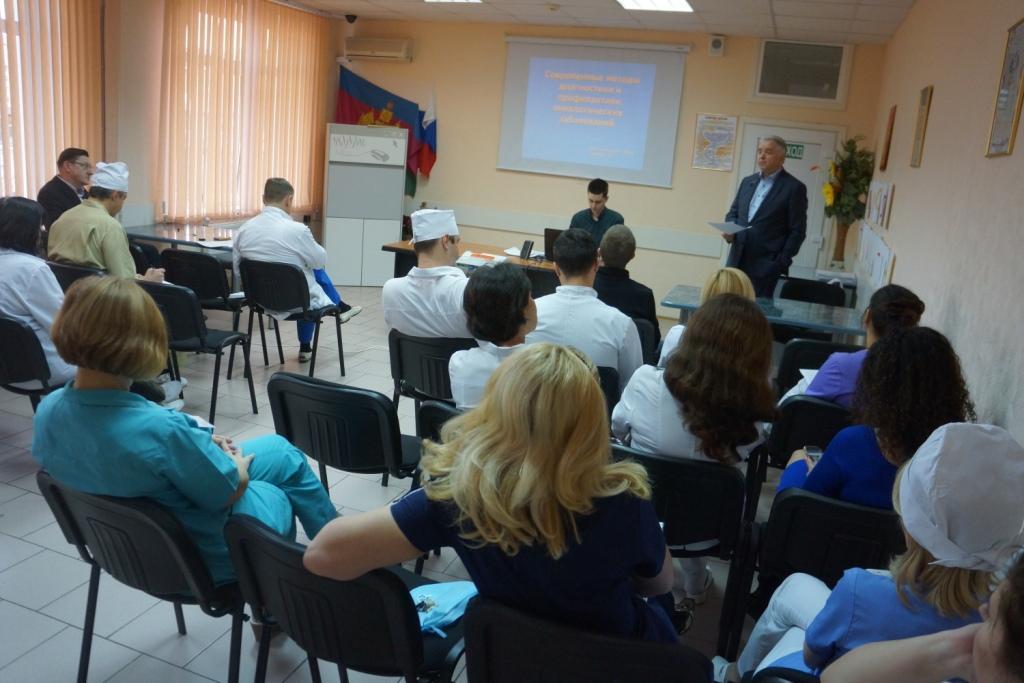 12 декабря 2016 г. в ГБУЗ «Краевая клиническая стоматологическая поликлиника» состоялась единая врачебная конференция на тему современных методов диагностики и профилактики онкологических заболеваний.