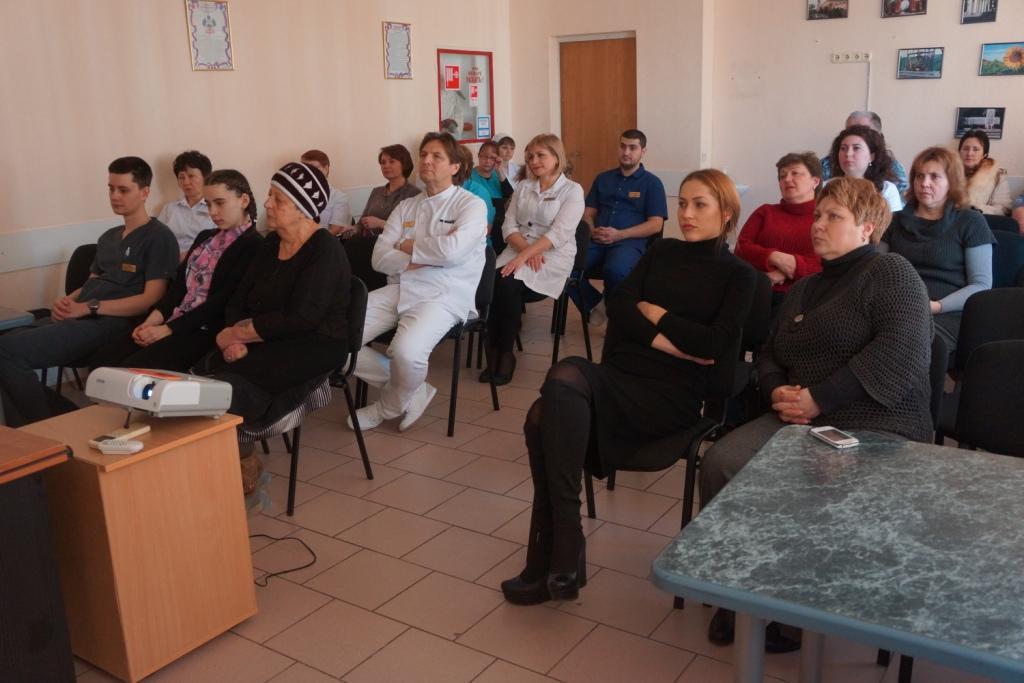 17 февраля 2017 года в ГБУЗ ККСП в соответствие с планом мероприятий учреждения были проведены два мероприятия