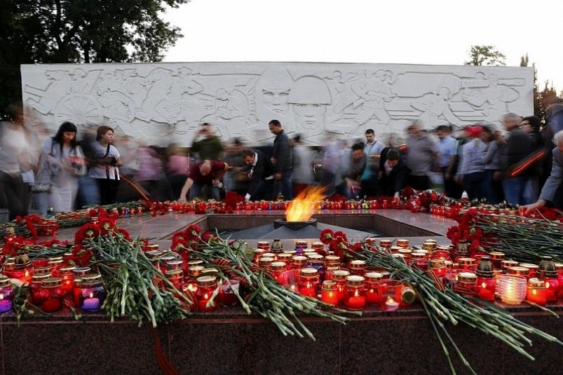 В ночь на 22 июня 2017 года медицинские работники ГБУЗ ККСП присоединились к патриотической Всероссийской акции «Свеча памяти»