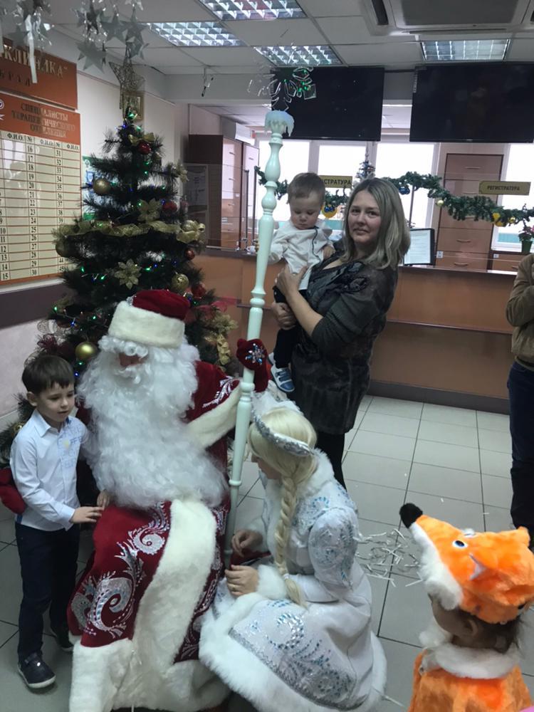 Новый 2018 год пришел в гости к детям сотрудников  ГБУЗ «Краевая клиническая стоматологическая поликлиника»