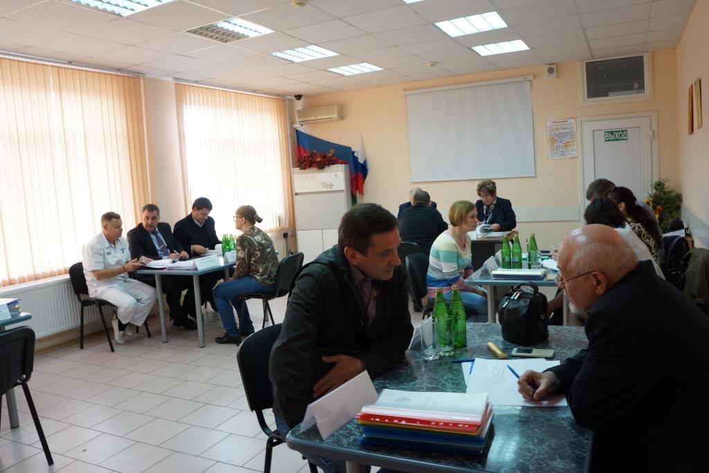 Заседание аттестационной комиссии