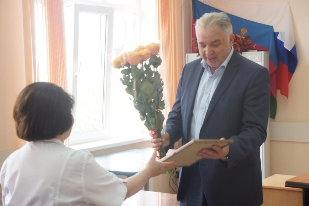 Выход на пенсию Вартанян Елены Сергеевна