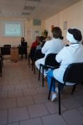 21 октября 2016 года в ГБУЗ «Краевая клиническая стоматологическая поликлиника» состоялась занятие «Школы профилактики»