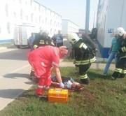 Учения в Темрюкском районе. Последствия  пожара устранены